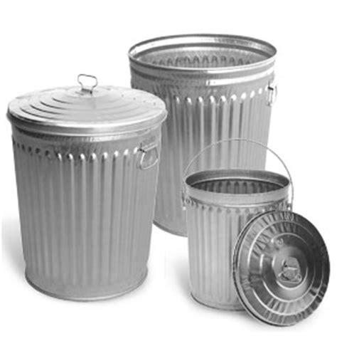 Cl C Heavy Duty 5 Limited galvanized outdoor trash cans metal trash receptacles