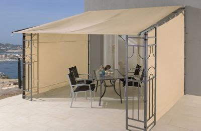 pavillon mit rolldach grasek anbaupergola rollo romana 3x4m mit 3 seitenteile
