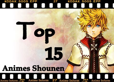 best shounen anime inform top 15 animes shounen