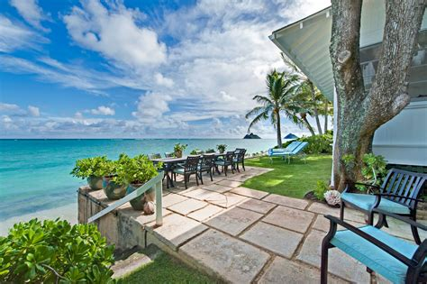 beach house rentals oahu beach mansion in hawaii