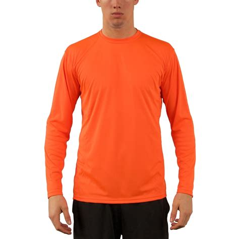 Sweater Club Vapor Clothing vapor apparel s upf 50 uv sun protection sleeve performance shirt ebay