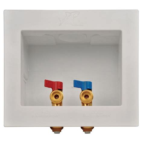 SharkBite 1/2 in. Washing Machine Outlet Box 24763   The
