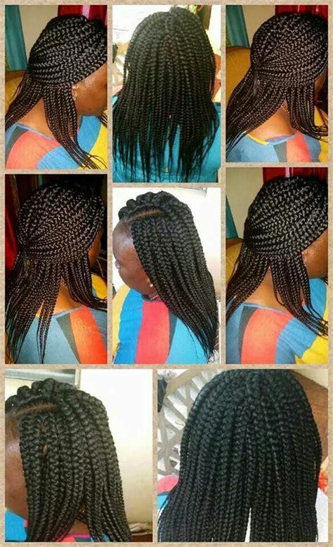 pictures of box braids braid pattern crochet box braids hairstylegalleries com