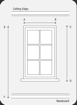 how to measure window for curtains eclipse curtains how to measure