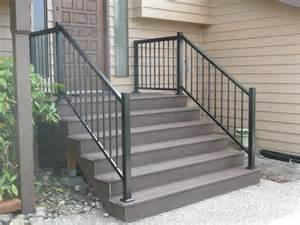 Trex Stair Railing by How To Amp Repair Trex Decking Stairs Trek Deck How To