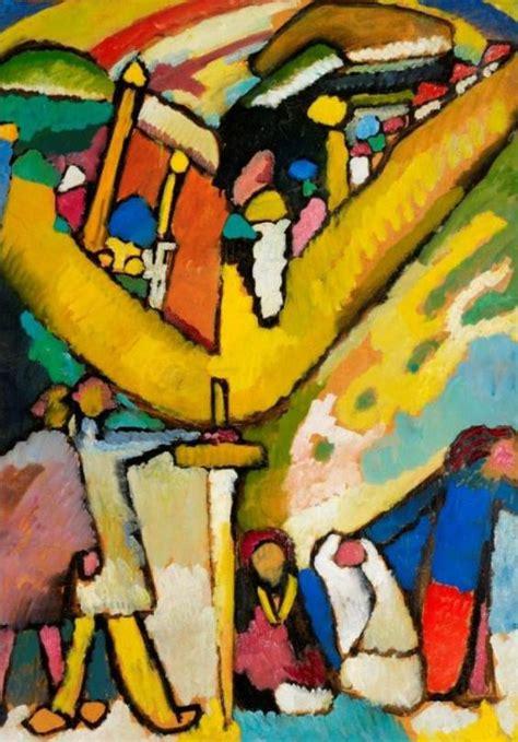 biography kandinsky artist wassily kandinsky study for improvisation 8 1909
