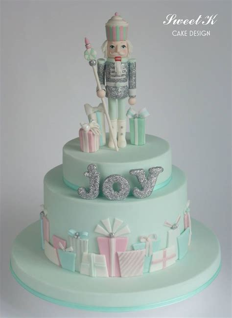 pastel color nutcracker cake  christmas christmas confections pinterest pastel