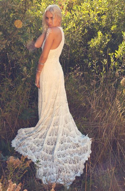 Pattern Crochet Wedding Dress | the crocheted wedding dress onewed