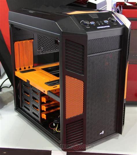 Aerocool Casing Xpredator Cube Orange aerocool unveils xpredator cube in 5 color options