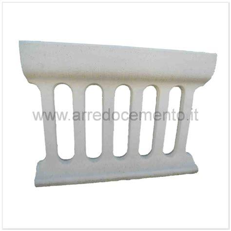 fioriere cemento balaustre in cemento fioriera cm118x26x86h bianco arredo