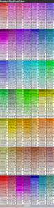 html color table complete html true color chart table of color codes for