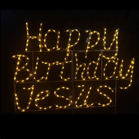 led jesus decoration lighted outdoor decorations lighted signs christmastopia