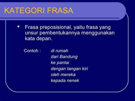 Inti Sari Kata Bhs Indonesia contoh frasa kata kerja contoh win