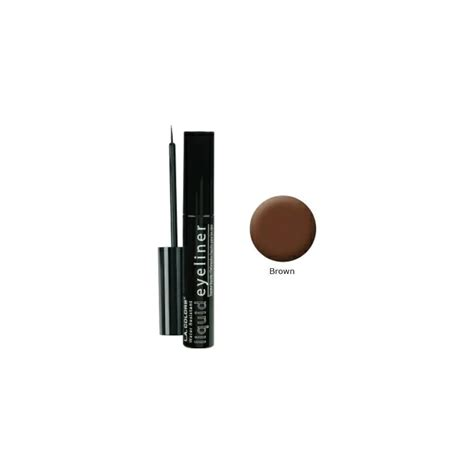 la colors eyeliner la colors liquid eyeliner brown makeup from base uk