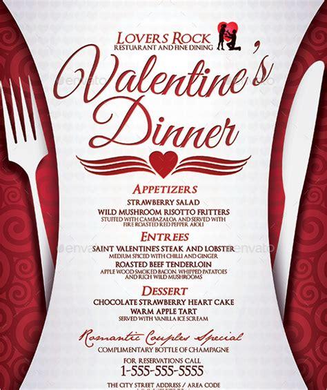 30 dinner menu templates free designs ideas creative