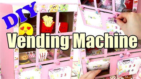 a squishy vending machine diy squishy vending machine tutorial cardboard
