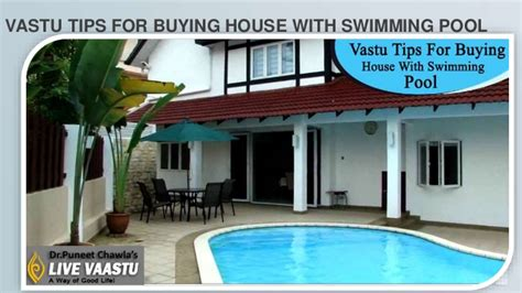 tips buying house vastu tips for buying house with swimming pool