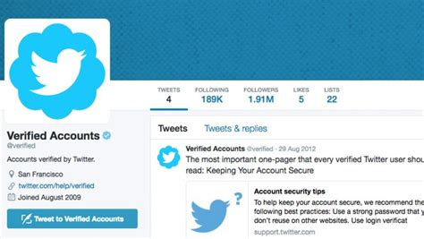 twitter account layout twitter is making it easier to request a verified account
