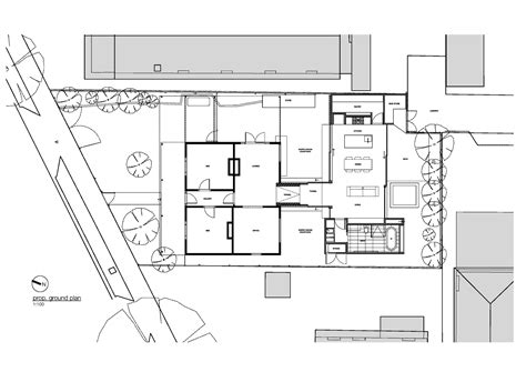 Floor Plans For A House Gallery Of Tunnel House Mo Do 20