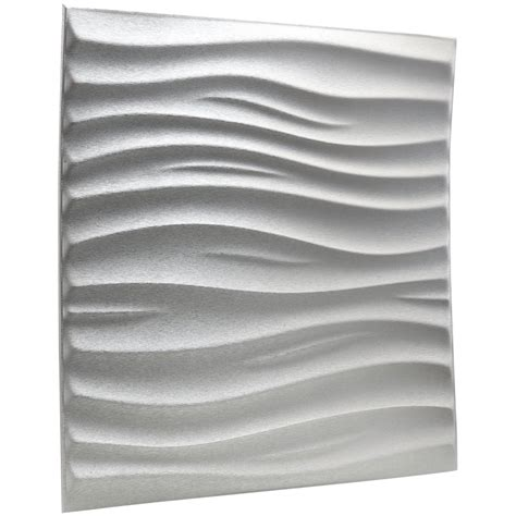 Peel And Stick Wallpaper Reviews Leather 3d Textured Wall Covering Pu Material Panels Wave Wall