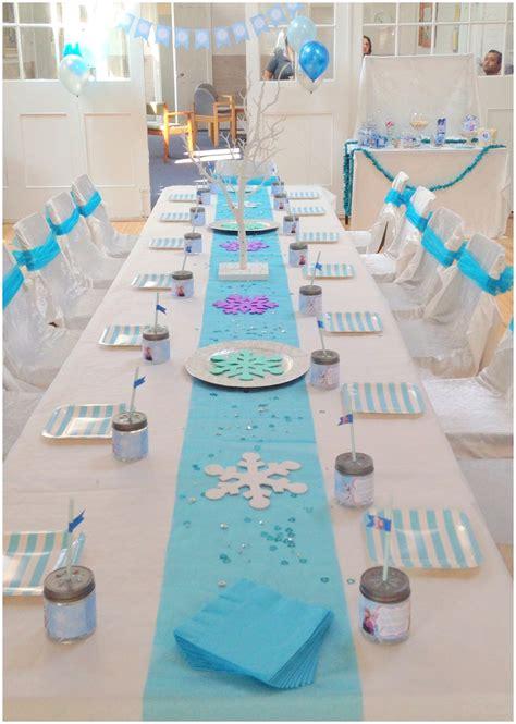 Frozen Table by Frozen Birthday Ellie