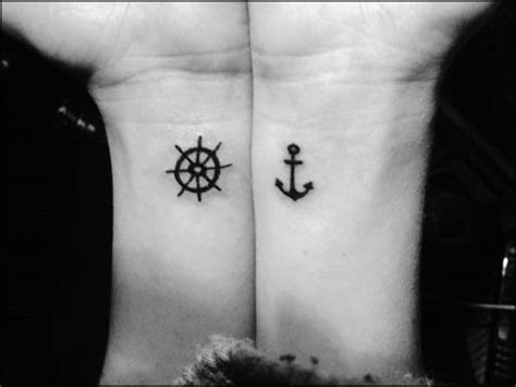 22 best friend tattoo quotes friend tattoos best friend tattoos 22 small anchor