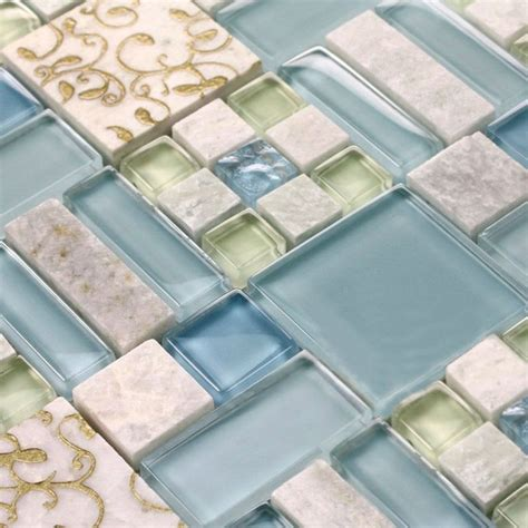 wholesale bathroom tile natural stone mosaic tile bathroom shower wall stickers