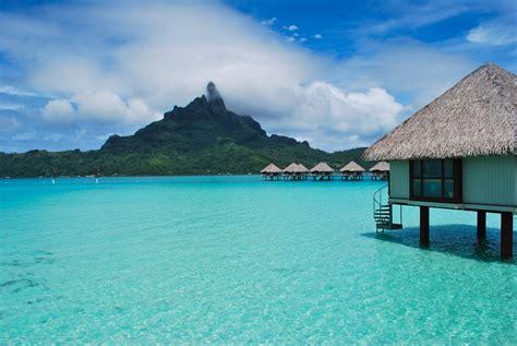french polynesia style  beach