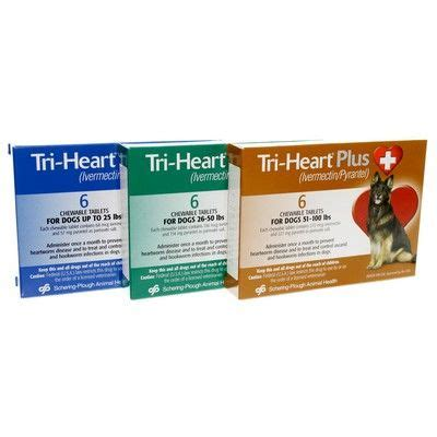 heartworm pills for dogs tri plus heartworm vetrxdirect pharmacy