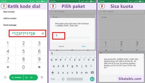 dial kuota gratis telkomsel kode internet kartu 3 8 cara hemat pulsa driver go jek