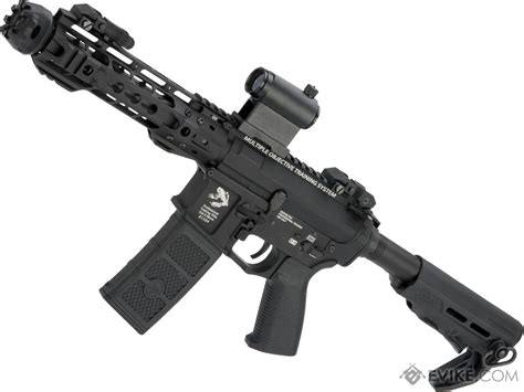 airsoft evikecom g p transformer compact m4 airsoft aeg with qd front