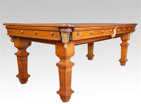 snooker dining table for sale oak snooker dining table for sale antiques classifieds