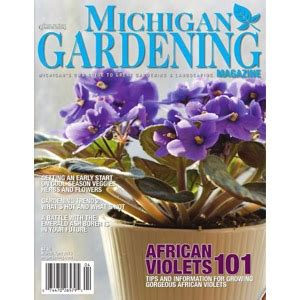 michigan gardening magazine plymouth nursery