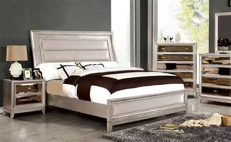 silver beds maxon queen silver bed frame