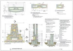 free outdoor fireplace plans outdoor fireplace plans free webshoz