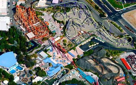 six flags vallejo map six flags discovery kingdom vallejo ca map