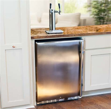 built in kegerator how to choose your dream home kegerator