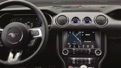 mustang interiors new 2018 ford mustang interior footage