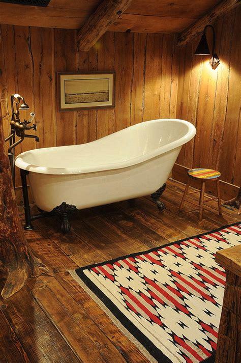 rustic bathroom rugs clawfoot tub bathroom rustic with area rug baseboards