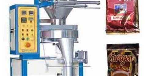 Mesin Kemasan Kopi Sachet mesin pengemas dan mesin packaging mesin pengemas sachet