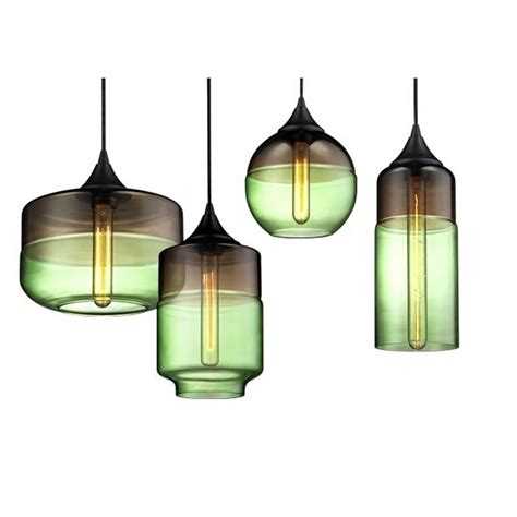 Modern Flash Blown Glass Shade Pendant Lighting 11676 Blown Glass Pendant Light Shades