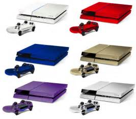 ps4 color what the playstation 4 would look like in different colors
