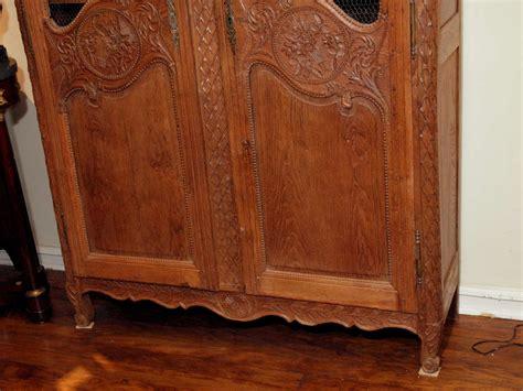 double door armoire antique french provincial oak double door armoire circa 1800 at 1stdibs