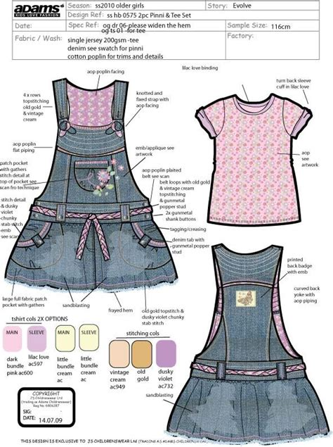 design brief in fashion 240 best children s technical drawings images on pinterest
