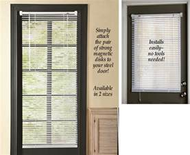 magnetic mini blinds for steel doors magnetic mini blind 25 quot x40 quot for half steel metal window