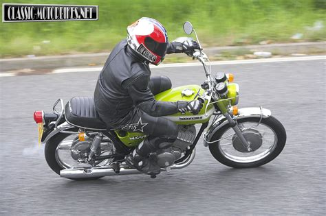 suzuki t350 rebel road test classic motorbikes