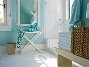 turquoise paint colors cottage bathroom sherwin williams watery hgtv