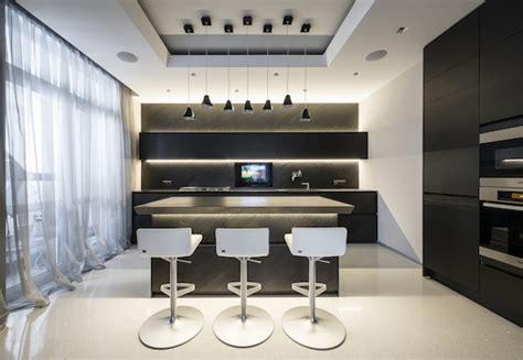 futuristic styled apartment in moscow fubiz media
