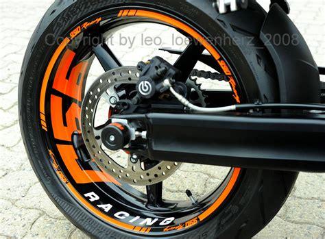 Yamaha Wr 125 Aufkleber Entfernen by Autocollant Pour Jante De Supermoto Ktm Super Duke Sd 950