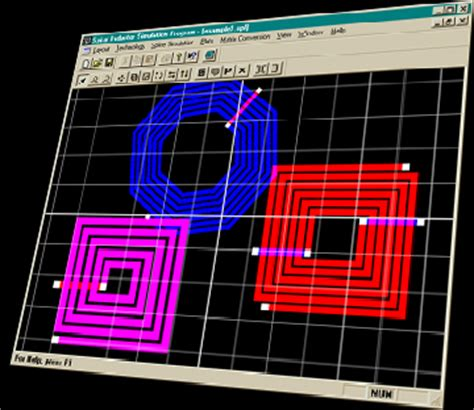 planar inductor design tool spiral inductor simulation program